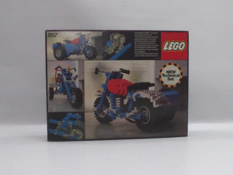 #857 レゴ モーターバイク