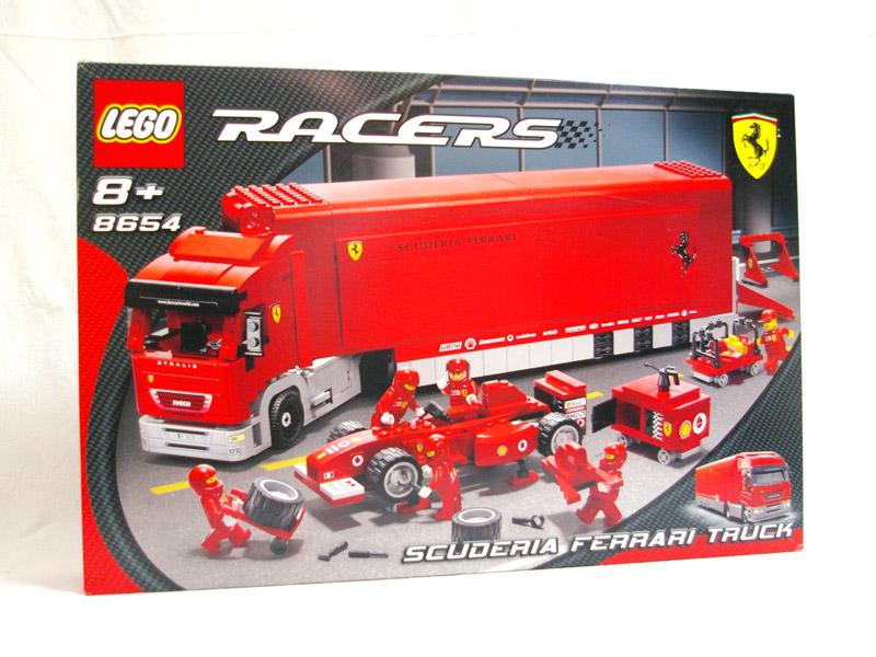 #8654 レゴ スクーデリア フェラーリ F1トランスポーター