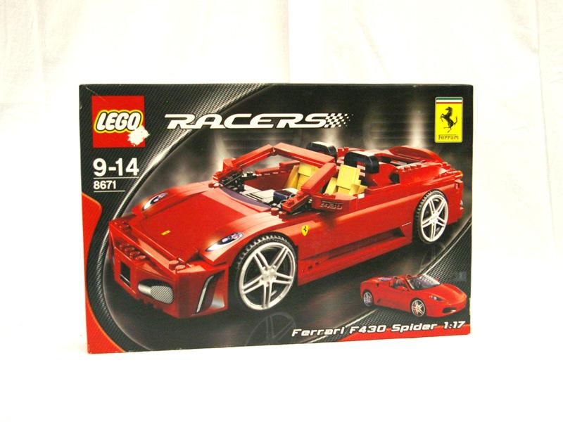 #8671 レゴ F430スパイダー1/17