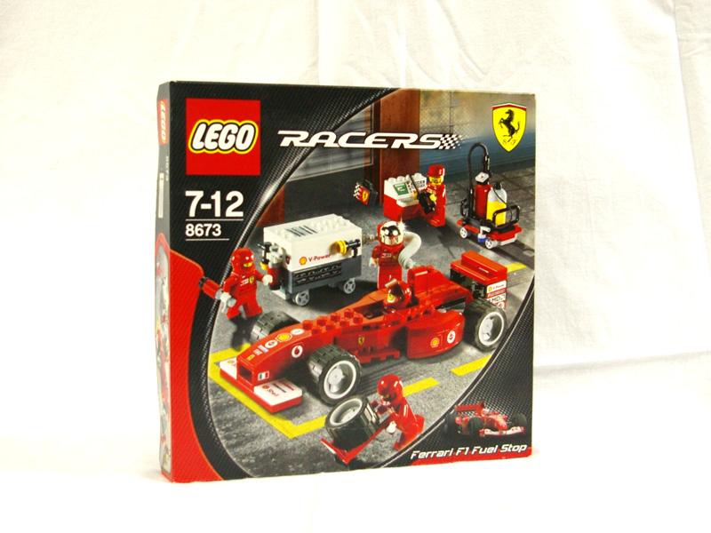 #8673 レゴ フェラーリ F1ピットストップ