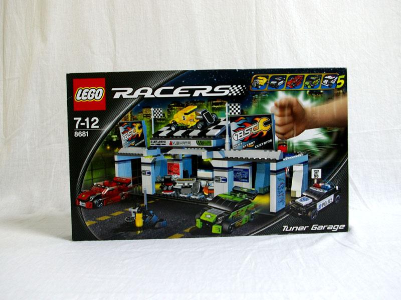 #8681 レゴ チューナーガレージ