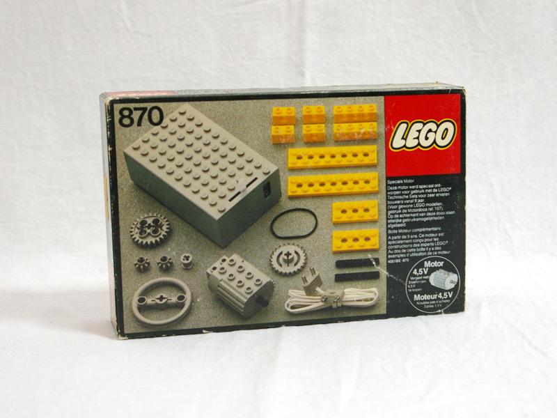 #870 レゴ テクニックパワーパック