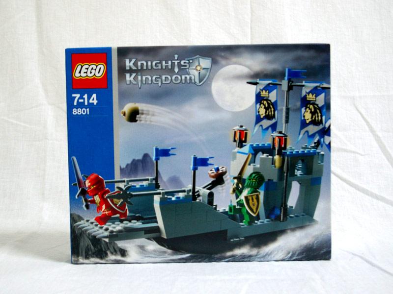 #8801 レゴ 正義の騎士の上陸船