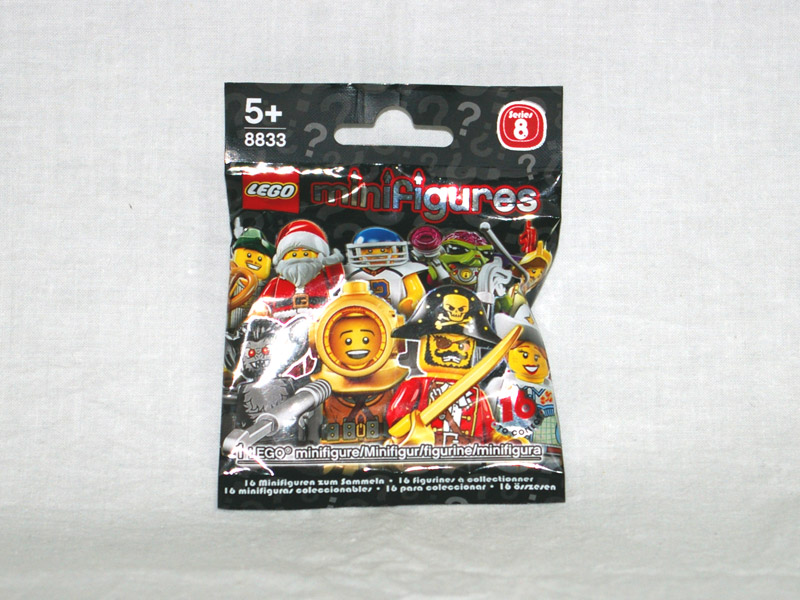 #8833 レゴ ミニフィギュアシリーズ Vol.8
