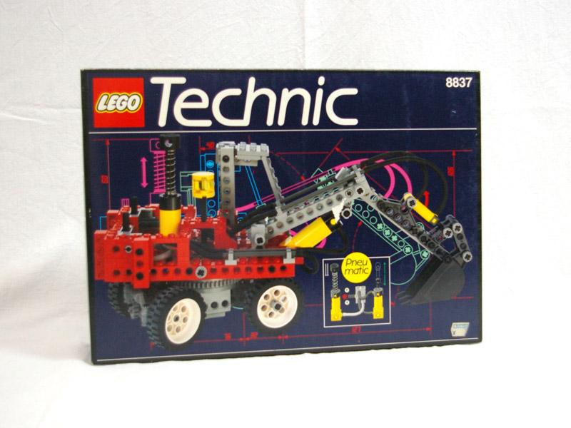 #8837 レゴ ショベルカー