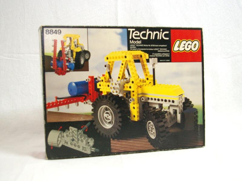 #8849 レゴ トラクター