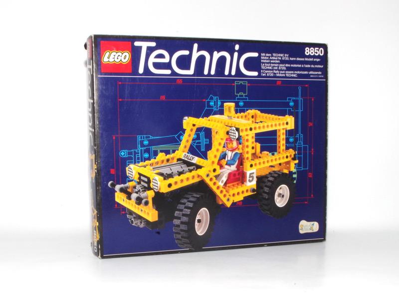 #8850 レゴ ラリーサポートトラック