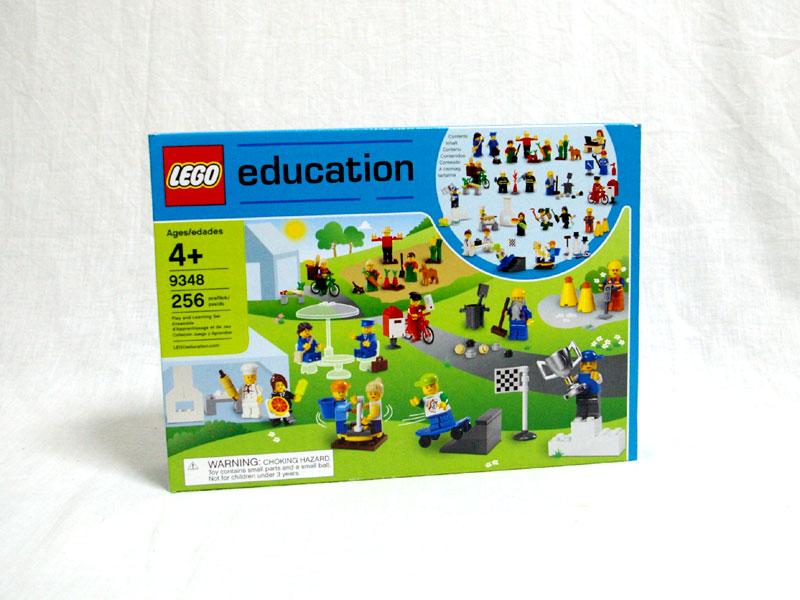 #9348 レゴ 働くミニフィグ