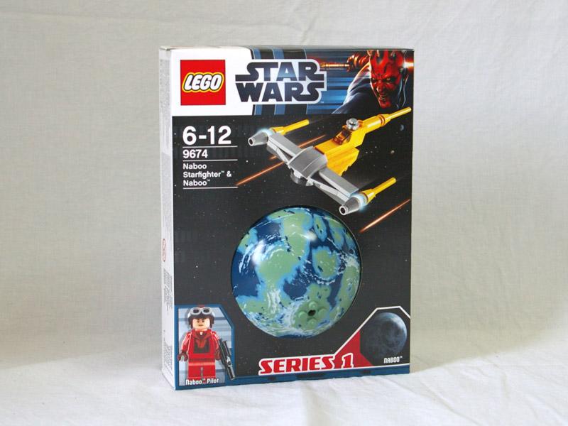 #9674 レゴ ナブー・スターファイターと惑星ナブー
