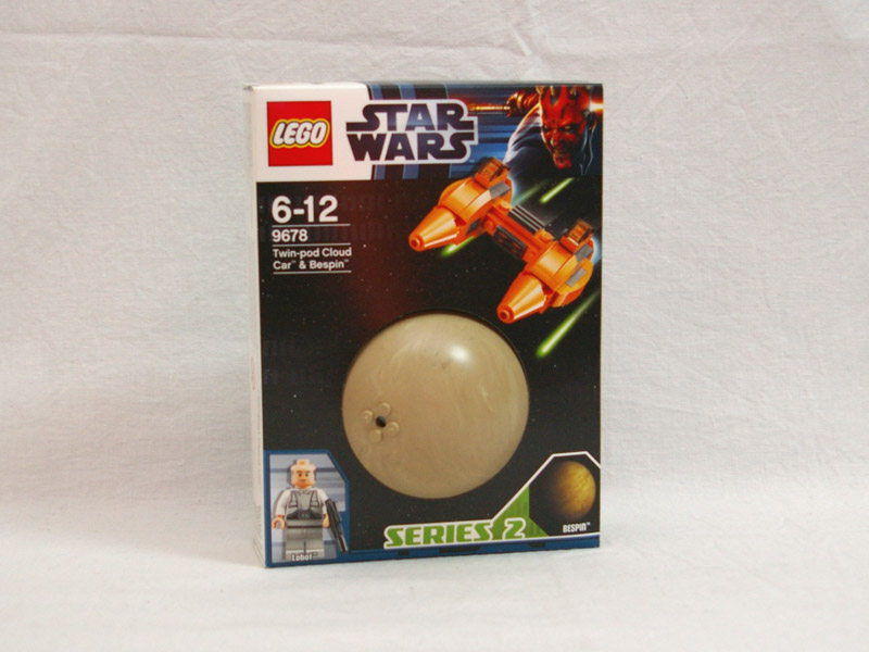 #9678 レゴ ツインポッド・クラウド・カーと惑星べスピン