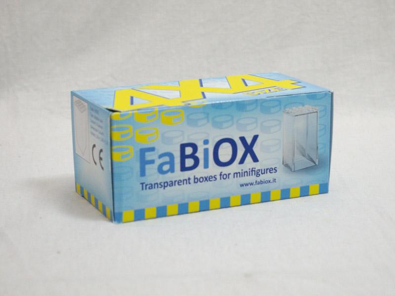 #FBX446 FaBiOX 4x4x6 ミニフィグディスプレイケース 8個入