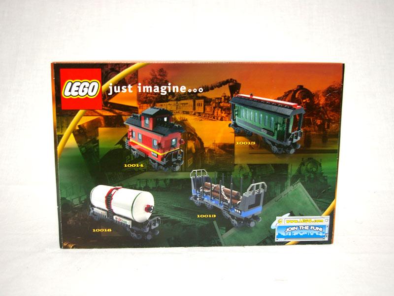 #10017 レゴ ホッパー車 背面の写真