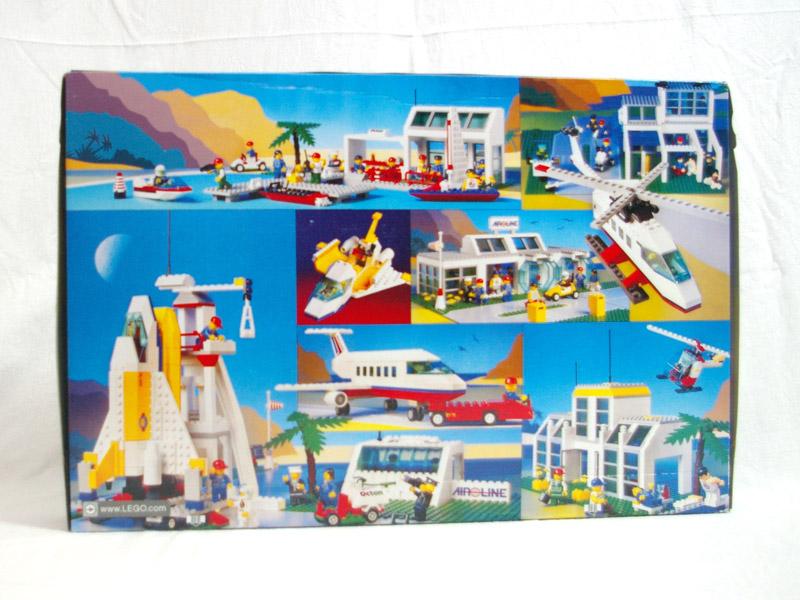 #10159 レゴ 飛行場 背面の写真