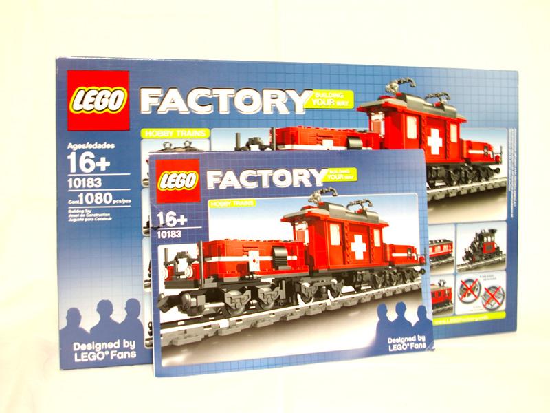 #10183 レゴ ホビートレイン 説明書の写真
