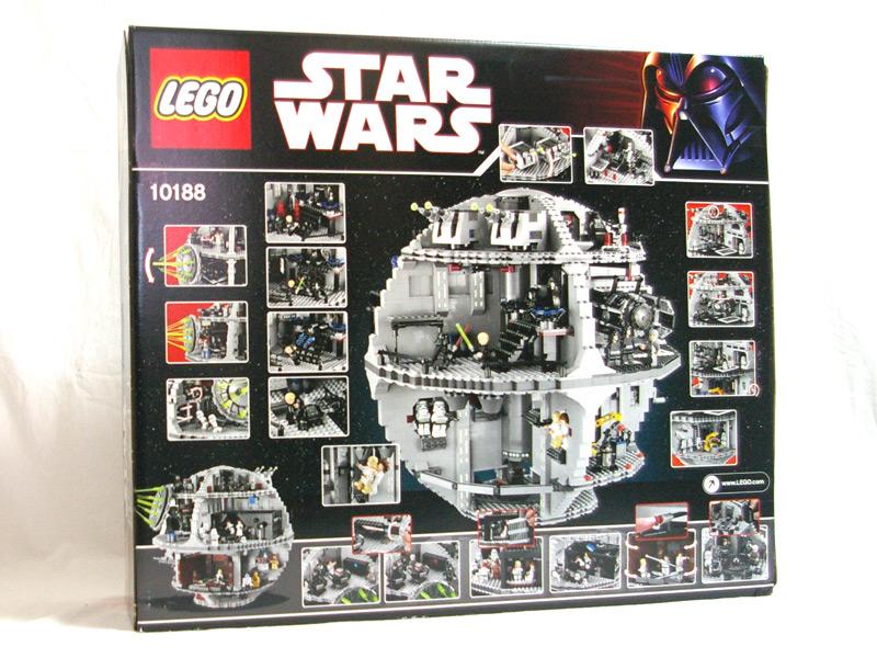 #10188 レゴ デススター 背面の写真