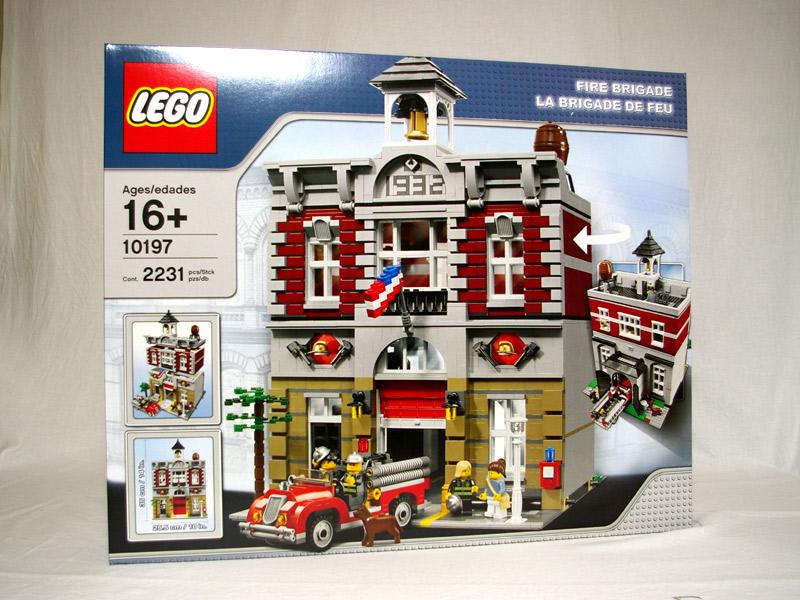 #10197 レゴ ファイヤーブリゲード