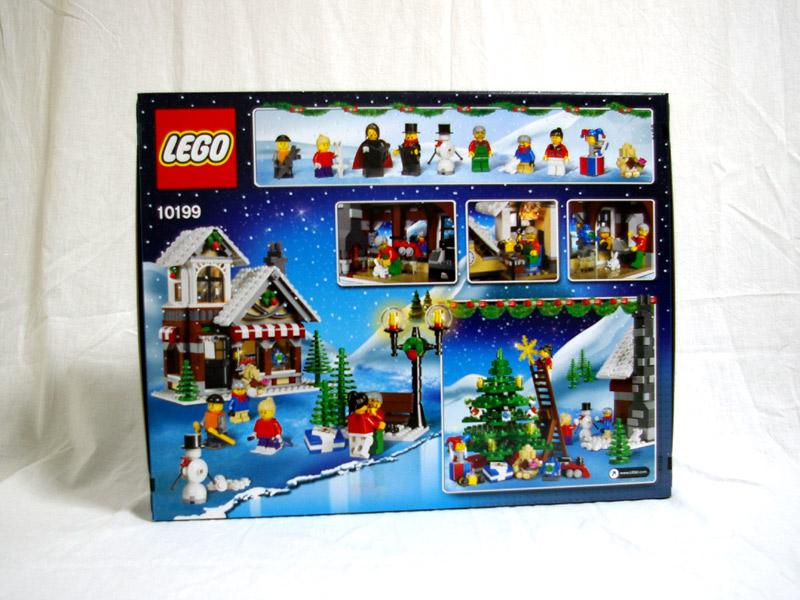#10199 レゴ クリスマスセット 背面の写真