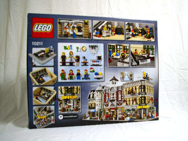 #10211 レゴ グランドエンポリウム 背面の写真
