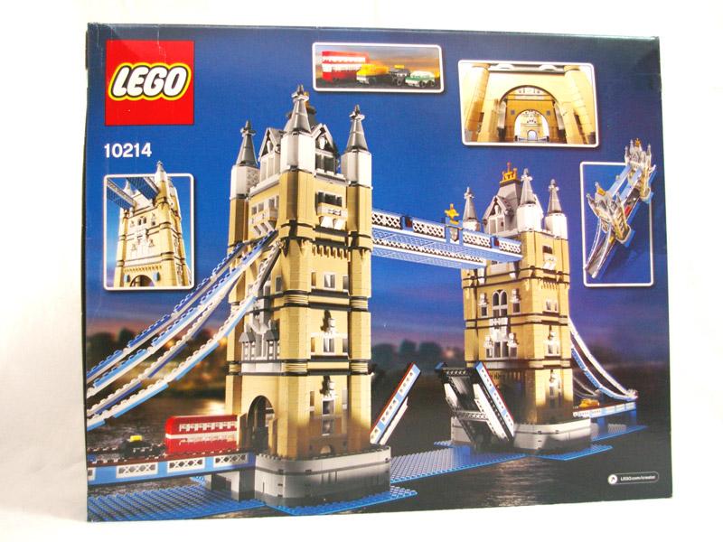 #10214 レゴ タワー・ブリッジ 背面の写真