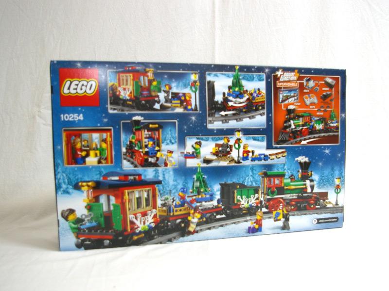 #10254 レゴ クリスマス・トレイン 背面の写真
