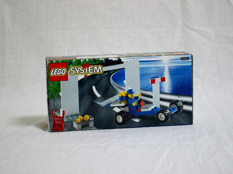#1029 レゴ 牛乳配達 背面の写真