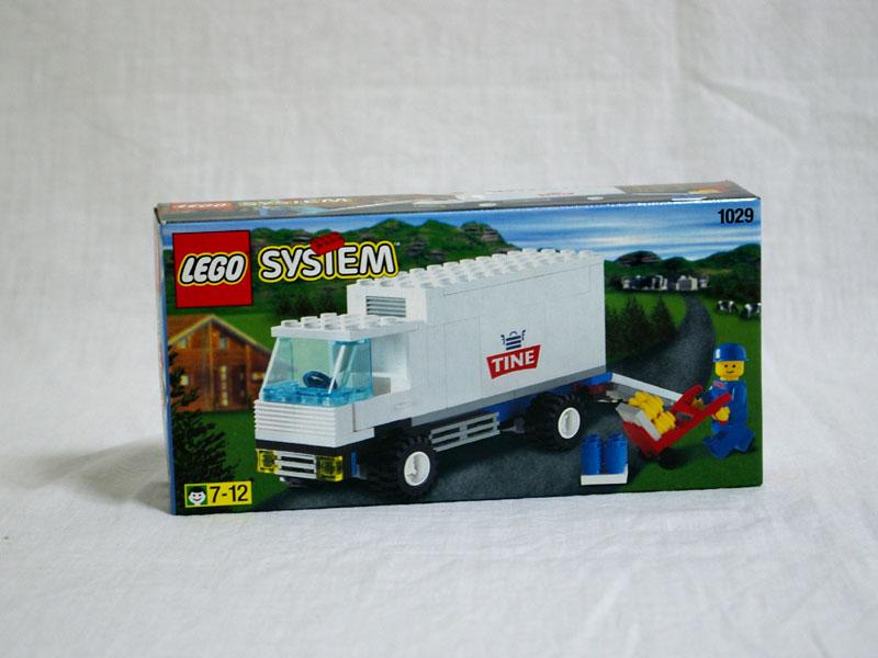 #1029 レゴ 牛乳配達 正面の画像