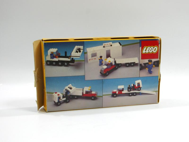 #107 レゴ カナダポストのトレーラー 背面の写真