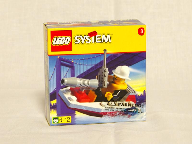 #1248 レゴ 消火ボート