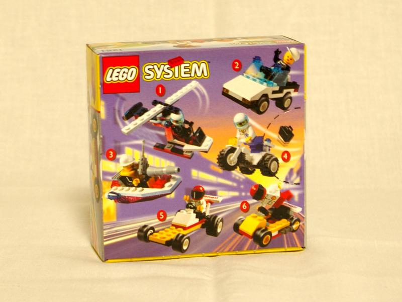 #1251 レゴ ゴーカート 背面の写真