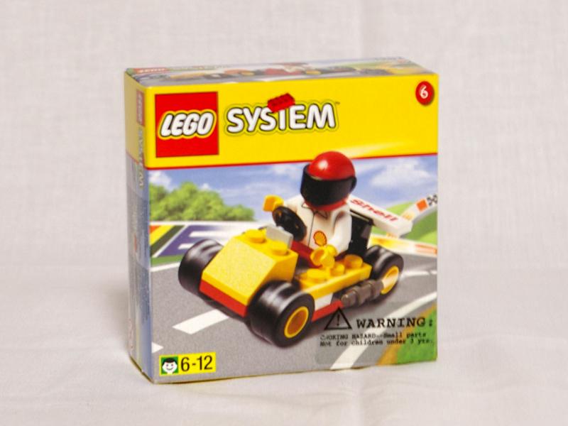 #1251 レゴ ゴーカート 正面の画像