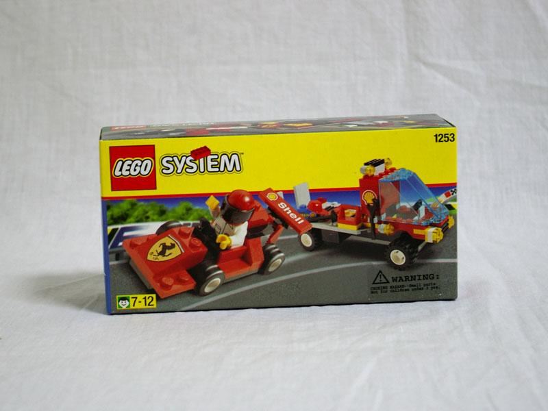 #1253 レゴ シェル車載車