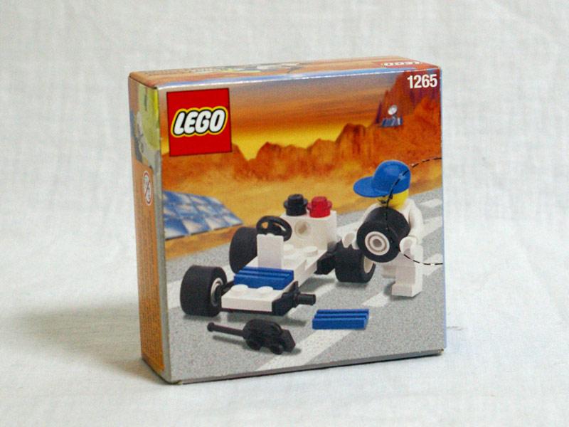 #1265 レゴ レーダーバギー 背面の写真