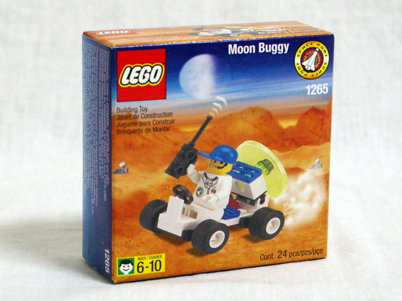 #1265 レゴ レーダーバギー 正面の画像