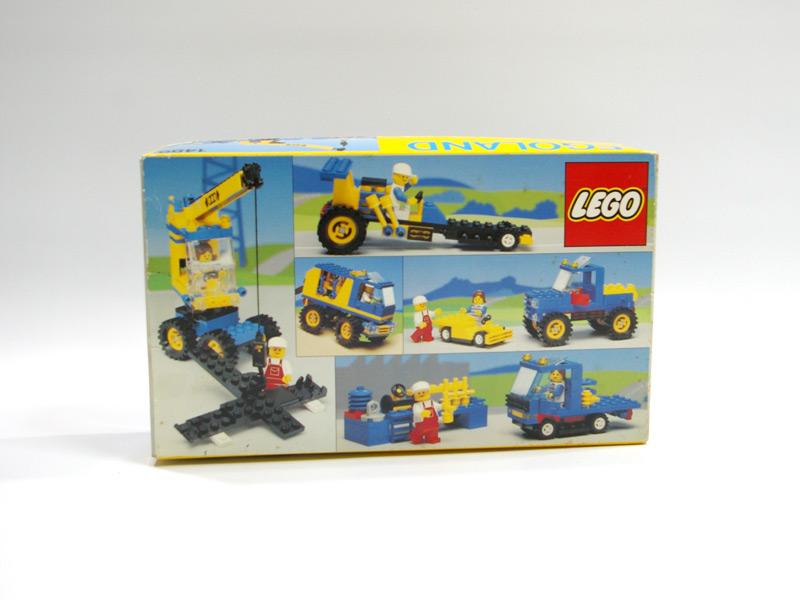 #1489 レゴ モバイル・カークレーン 背面の写真