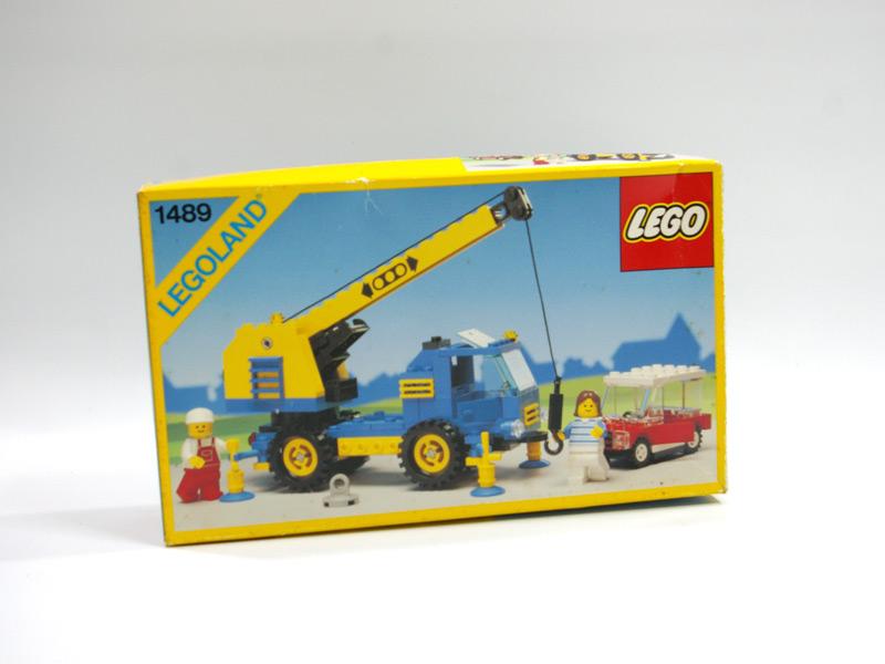 #1489 レゴ モバイル・カークレーン