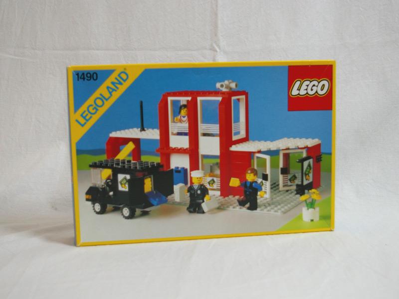 #1490 レゴ 町の銀行