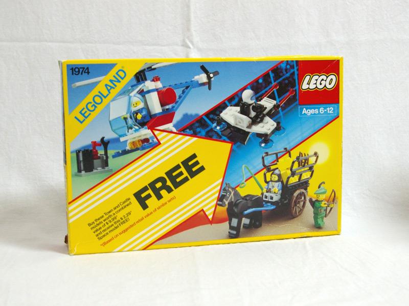 #1974 レゴ レゴランドトリプルパック