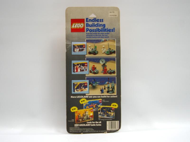 #1983 レゴ 宇宙シリーズバリューパック 背面の写真