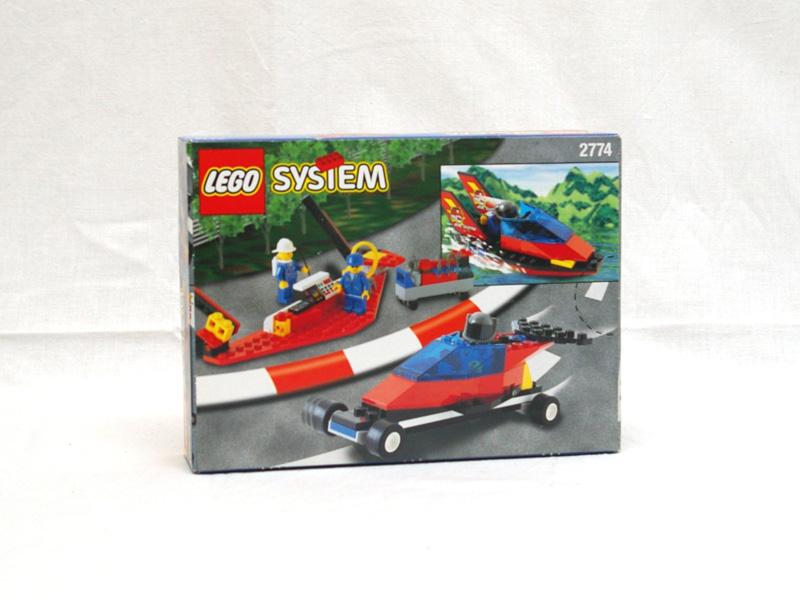 #2774 レゴ エアーショー 背面の写真