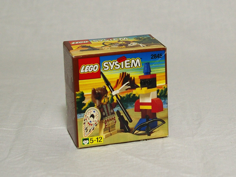 #2845 レゴ インディアン