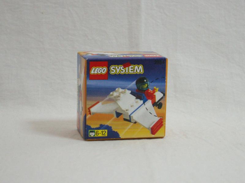#2884 レゴ ライトプレーン 背面の写真