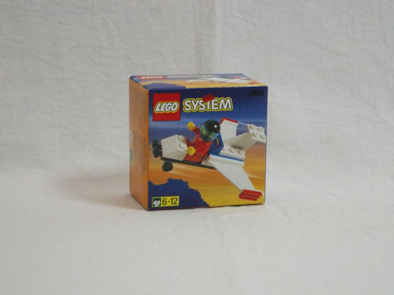 #2884 レゴ ライトプレーン 正面の画像