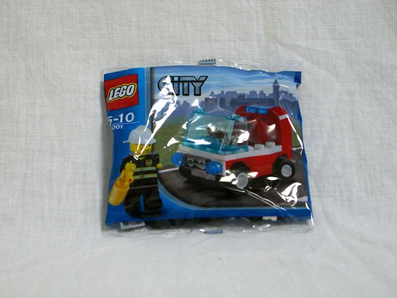 #30001 レゴ 消防士の車