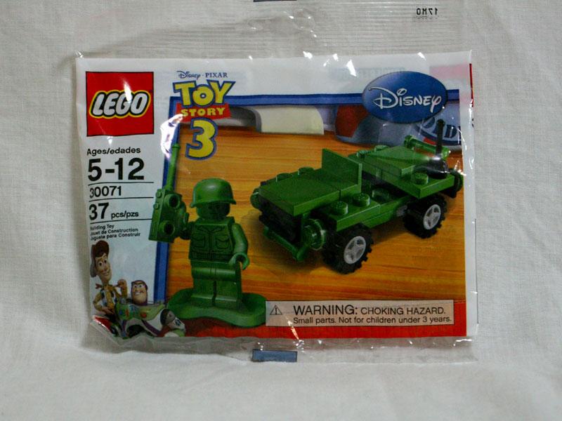 #30071 レゴ グリーンアーミーメンとジープ