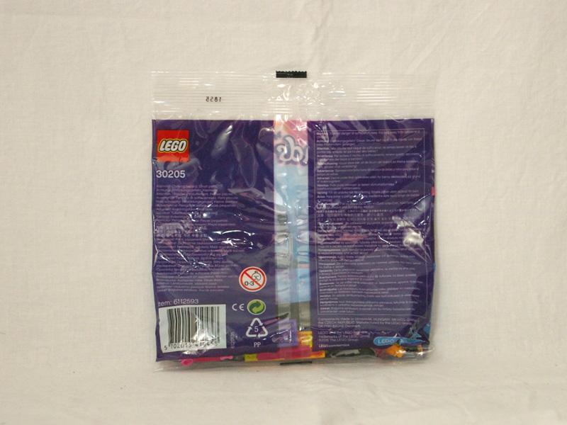 #30205 レゴ ポップスター・レッドカーペット 背面の写真