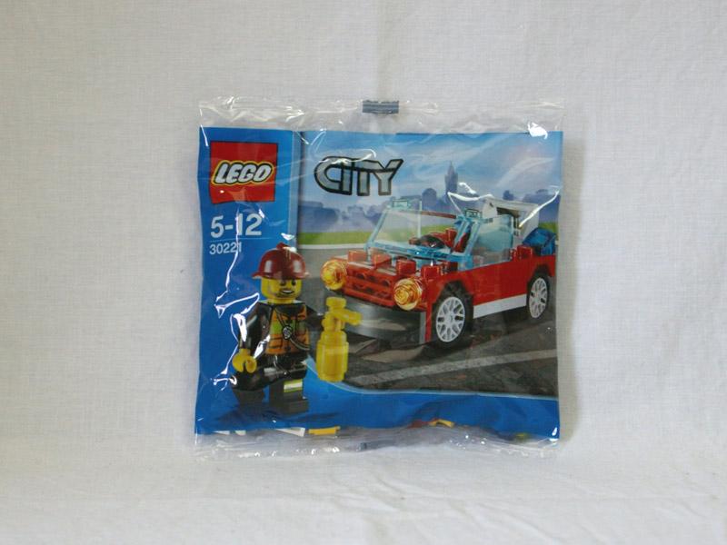 #30221 レゴ 消防パトロールカー