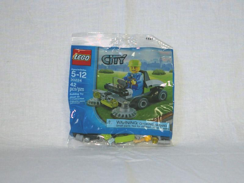 #30224 レゴ 芝刈り機 正面の画像