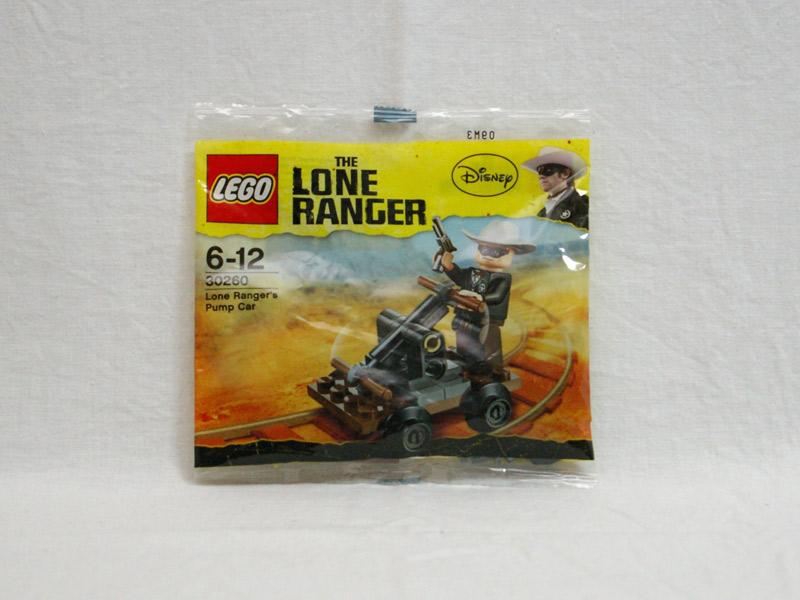 #30260 レゴ ローンレンジャーの手漕ぎトロッコ