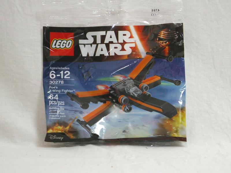 #30278 レゴ ポーのXウィング・ファイターミニ 正面の画像
