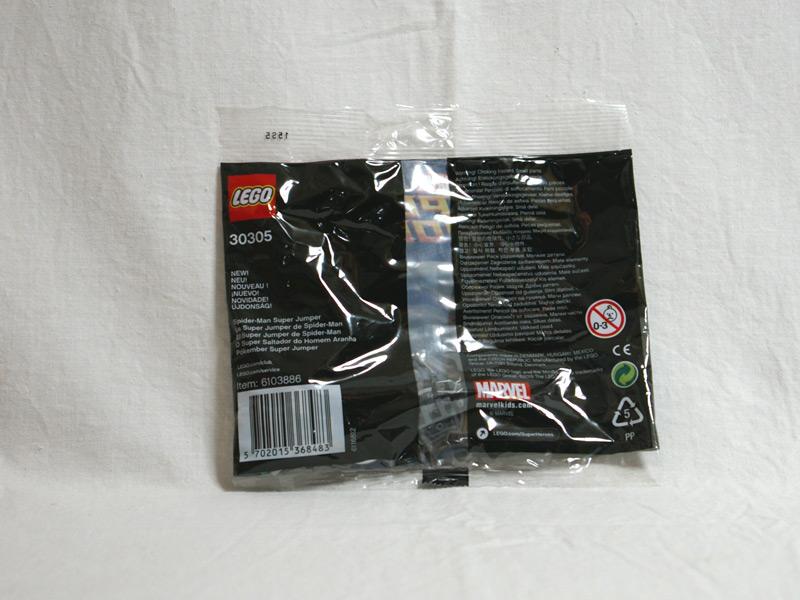 #30305 レゴ スパイダーマンスーパージャンプ 背面の写真